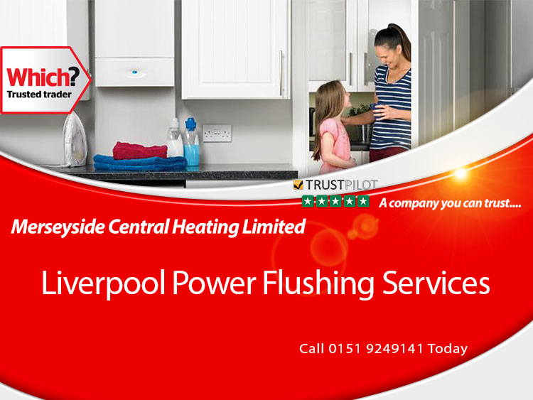 Boiler Power flush Liverpool